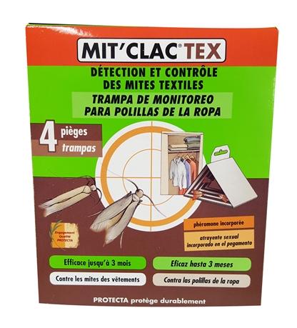 Pi ge anti mites mit 39 clac textile tui de 4 pi ges hyprodis - Produit contre les mites ...