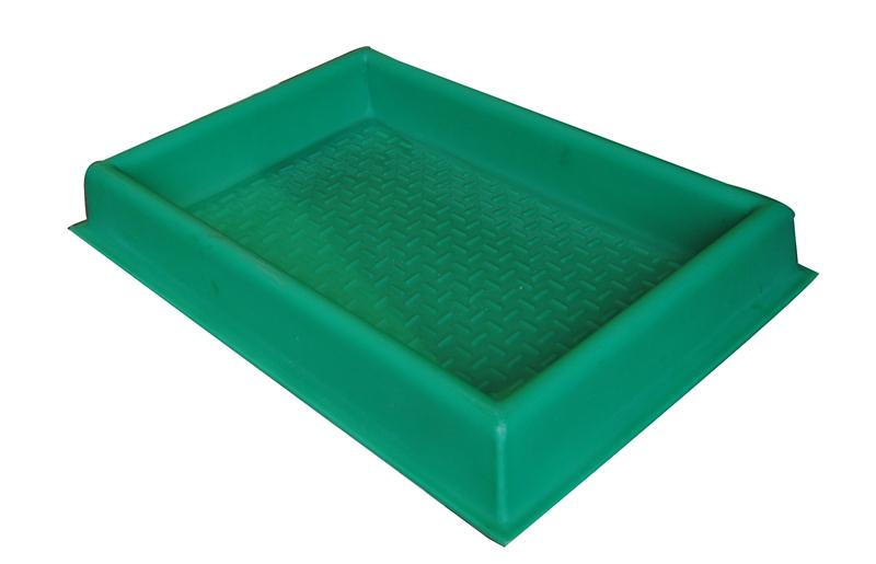 bac de d sinfection pediluve rigide vert hyprodis. Black Bedroom Furniture Sets. Home Design Ideas