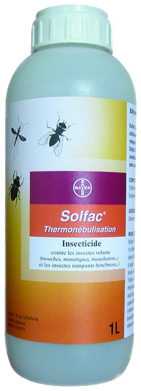 insecticide thermon bulisation contre mouches et t n brions solfac thermo 1 l insecticides. Black Bedroom Furniture Sets. Home Design Ideas