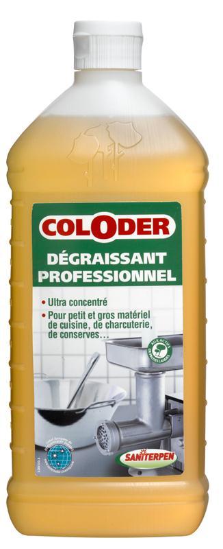 Coloder d graissant professionnel concentr nettoie et for Degraissant professionnel cuisine