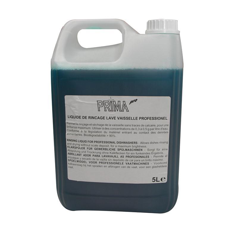 Liquide de rin age lave vaisselle professionnel prima pro 5 litres produits d entretien - Liquide lave vaisselle maison ...