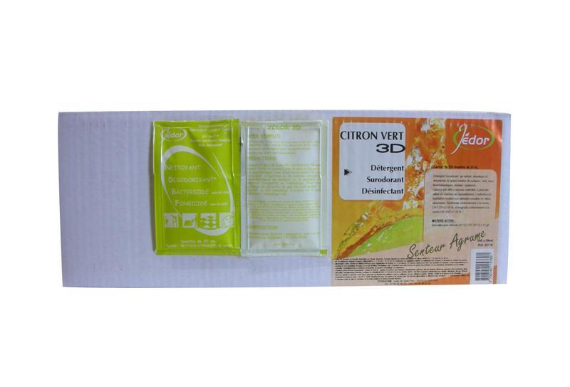 dose 3d 20 ml d tergent d sinfectant et d sodorisant parfum citron vert hyprodis. Black Bedroom Furniture Sets. Home Design Ideas
