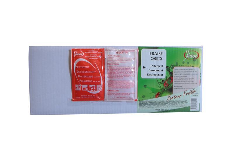 Dosettes jedor 3d 20 ml produit lavage sol d tergent d sinfectant d sodorisant parfum fraise - Dosette ese grande surface ...
