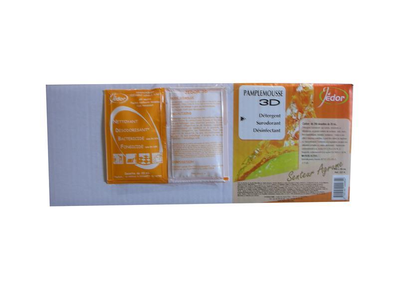 Dosette jedor pamplemousse agrume produit lavage sol 3d 20 ml parfum hyprodis - Dosette ese grande surface ...