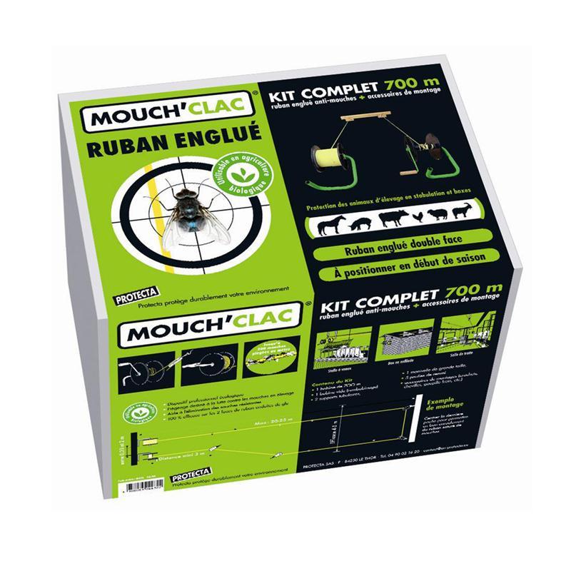 Pi ge naturel contre les mouches mouch clac ruban glu 700 m kit hyprodis - Produit naturel contre les mouches ...