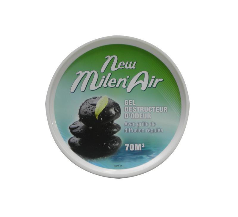Gel destructeur d odeur new milen air 70 m3 bo te de 250 gr hyprodis - Destructeur d odeur ...