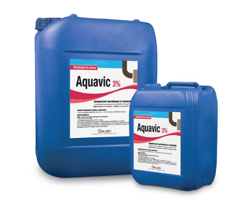 d sinfectant base d iode aquavic 3 4 x 5 litres hyprodis. Black Bedroom Furniture Sets. Home Design Ideas