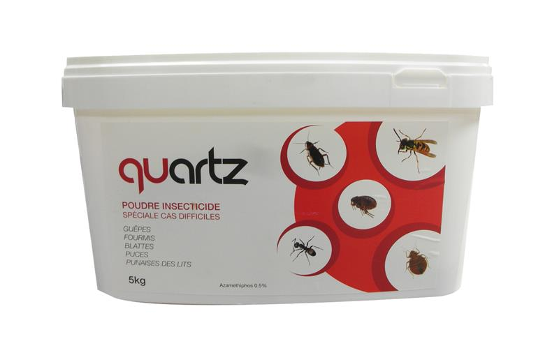 quartz insecticide poudre anti punaise de lit base d azam tiphos 5 kg hyprodis. Black Bedroom Furniture Sets. Home Design Ideas