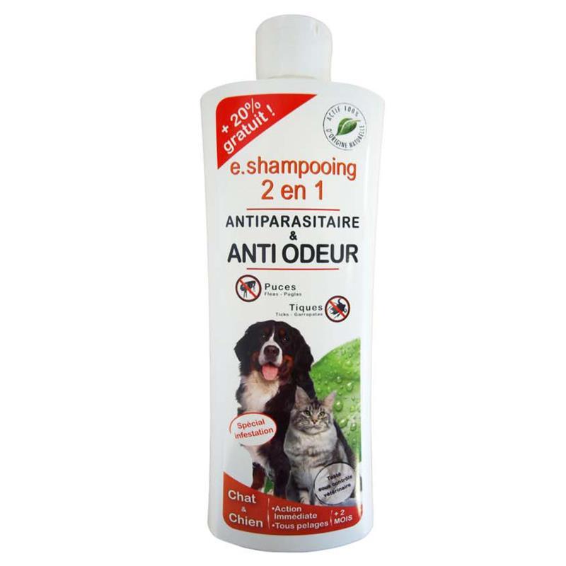 shampooing anti odeur et antiparasitaire pour chien et chat hygi ne et soins animaux hyprodis. Black Bedroom Furniture Sets. Home Design Ideas