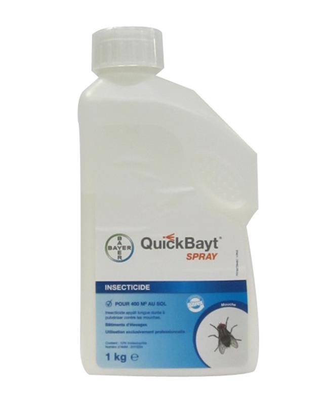 Quickbayt sray insecticide imidaclopride app t longue dur e 1kg bayer - Produit anti araignee longue duree ...