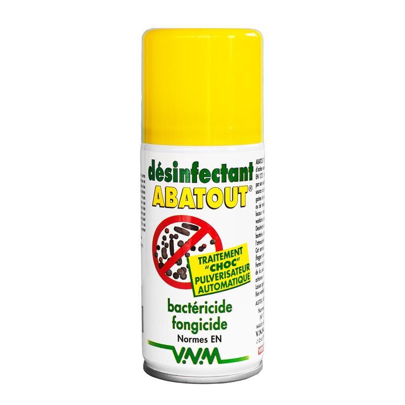 D sinfectant fogger abatout bact ricide et fongicide a rosol unidose 210 ml hyprodis - Bombe anti acarien ...