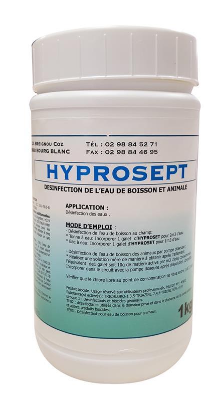 comprim s pour la d sinfection de l eau boisson animale hyprosept hyprodis. Black Bedroom Furniture Sets. Home Design Ideas