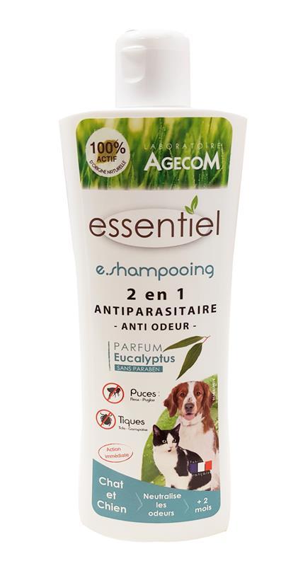 shampooing anti odeur et antiparasitaire eucalyptus chien chat. Black Bedroom Furniture Sets. Home Design Ideas