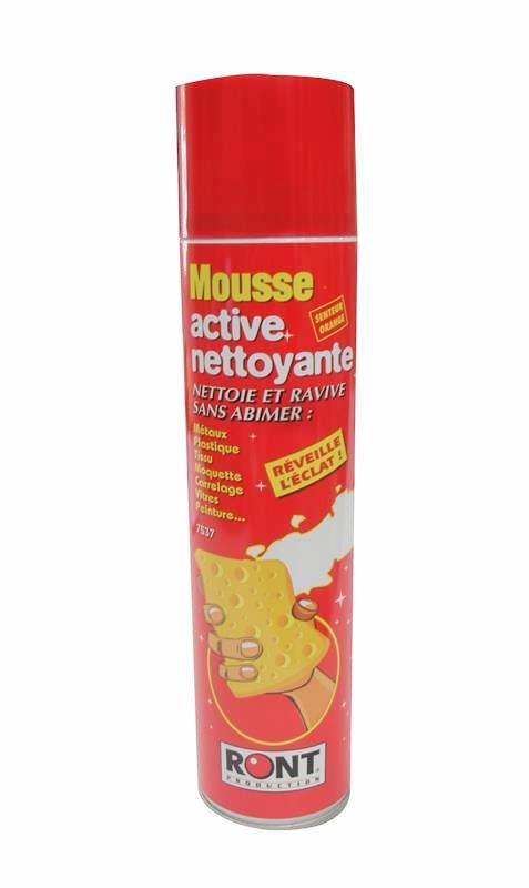 Mousse active nettoyante multi usages laboratoire RONT ...