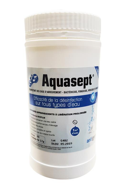 Aquasept pastilles de chlore pour assainir l eau hyprodis - Pastille de chlore ...