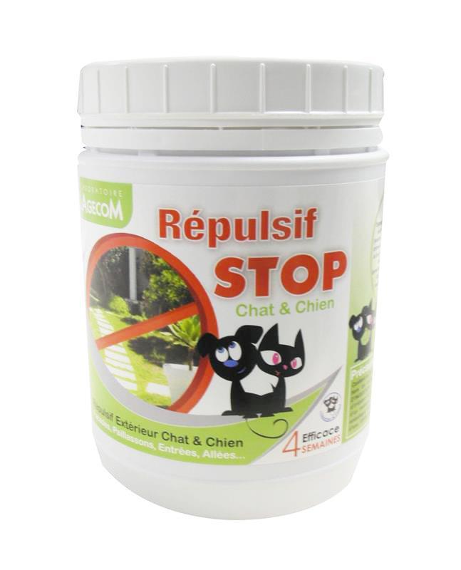 R pulsif granul stop chiens et chat pour ext rieur pot de for Repulsif chien exterieur efficace
