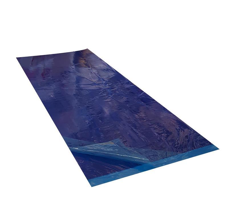 tapis collant anti poussi re bleu tapis de propret autocollant salle blanche. Black Bedroom Furniture Sets. Home Design Ideas