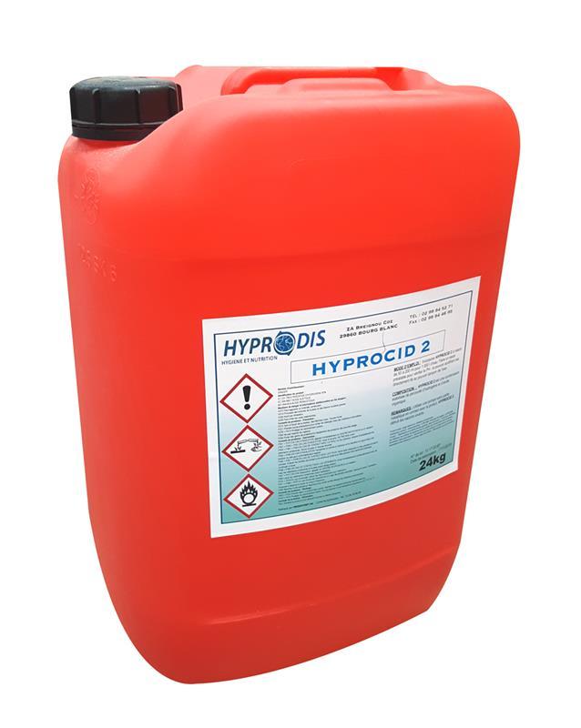 P roxyde d 39 hydrog ne acides organiques hyprocid 2 25 for Peroxyde d hydrogene piscine