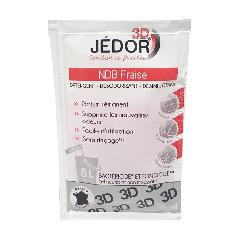 Dosettte 3d d tergente d sinfectante et d sodorisante pour les sols jedor fraise - Dosette ese grande surface ...