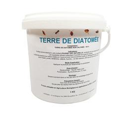 Terre de diatomée 1kg