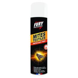 Fury mites textiles