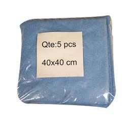 Microfibres toutes surfaces bleu x5