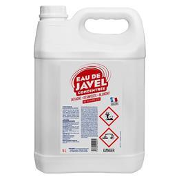 Extrait de javel 9,6 % bidon de 5 litres