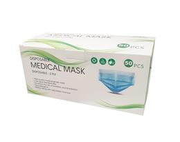Masque médical 3 plis boîte de 50 masques