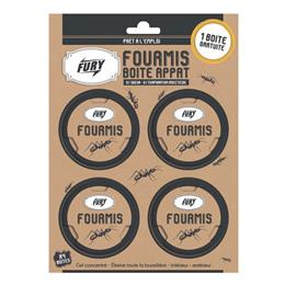 Fury boîte anti fourmis x 4