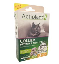 Actiplant collier chat détente et anti-stress