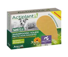 Actiplant' Shampooing solide protection parasite et anti démangeaisons