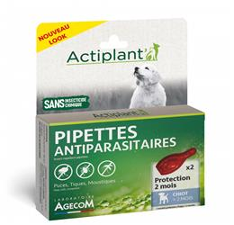 ACTI Pipettes antiparasitaire chien
