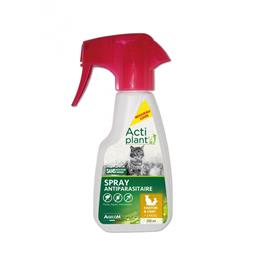 Actiplant Spray antiparasitaire chat