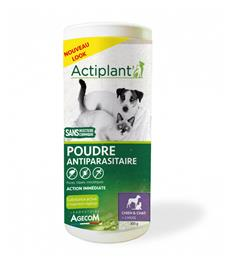 Actiplant Poudre antiparasitaire chien chat 300g