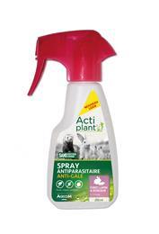Actiplant Spray antiparasitaire anti-gale furet lapin rongeur