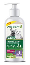 Actiplant Shampooing antiparasitaire chien chat fruit des bois