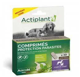 Actiplant Comprimés Protection Parasites chien chat