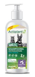 Actiplant Shampooing 3 en1 antiparasitaire chien chat Anti Odeur