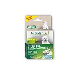 Actiplant´3 pipettes antiparasitaires chien