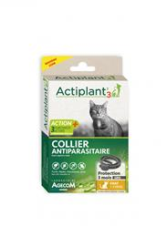 Actiplant´3 collier antiparasitaire chat gris