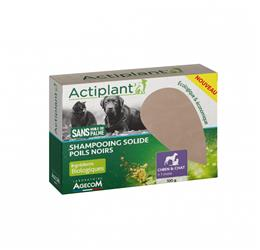 Actiplant' Shampooing Solide Poils Noirs