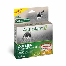 ACTI Collier antiparasitaire chat Noir 35 cm