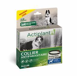 ACTI Collier antiparasitaire chien moyen Noir