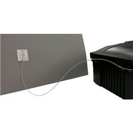 Cable de fixation pour poste d´appâtage rats souris