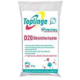 Toplinge Wyritol D20 lessive désinfectante poudre