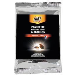 Fury plaquette punaise de lit et acariens