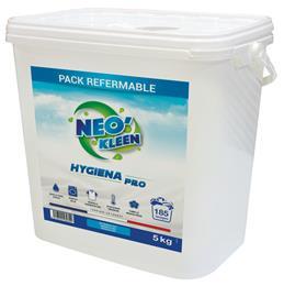 HYGIENA PRO lessive poudre désinfectante virucide 5 kg