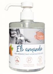 Gel hydroalcoolique Eli amande 500 ml