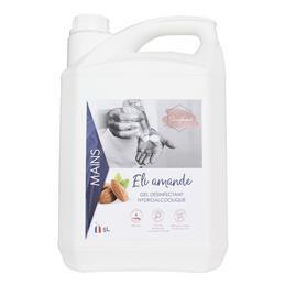 Gel hydroalcoolique Eli amande 5 litres