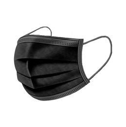 Masque médical NOIR boîte de 50 masques